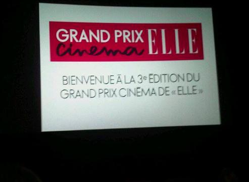 Grand Prix ciné ELLE : round 1
