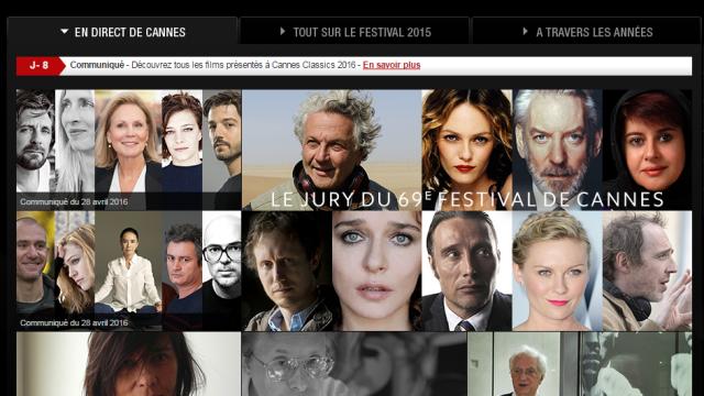 Temps calme avant Cannes 2016
